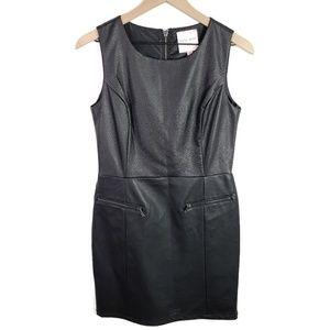 NWT Romeo & Juliet Faux Leather Mini Dress